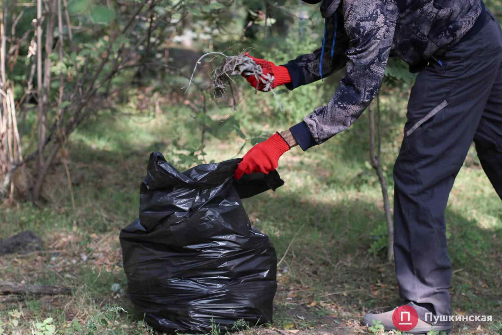 World cleanup day: в Одессе убирают от мусора Дюковский парк. Фото